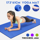 Bakeey Yoga Mat 4MM Thick Resilience Blanket Non-slip Protect Yoga Mat