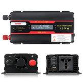 4000W Spitzenleistungsinverter LCD Anzeige DC 12 / 24V zu Wechselstrom 110V / 220V geänderter Sinus-Wellen-Konverter