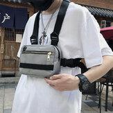 メンズレディースタクティカルチェストバッグベストスタイル機能バッグ