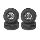4Pcs AUSTAR AX-3020D 1.9 Inch 103mm RC Car Tires With Hub For 1/10 D90 SCX10 CC01 RC Car Crawler