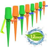 12 Pcs de Pressão Constante Gotejador Automático de Fluxo Ajustável Auto Rega Equipamentos de Irrigação para Garrafa de Plástico Dispositivo de Rega Bonsai Ao Ar Livre Indoor