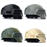 MICH 2000 Tactical Hunting Combat CS Helmet with Side Rail NVG Mount