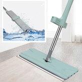 Flacher freihändiger waschbarer Mopp 360 ° drehbarer Rückprall automatisch für Haushaltsgeräte für Haushaltsreiniger