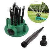 360 ° roterende tuin Gazonsprinkler Automatische irrigatiespray Strooi sproeier