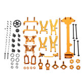 WLtoys 1/18 A949 A959 A969 A979 K929 Yükseltilmiş Metal Parçalar Kit Altın Renk