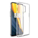 Bakeey Ultra-thin Transparent Shockproof Hard PC Protective Case For OnePlus 7
