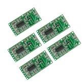 25pcs RCWL-0516 4-28V 3mA Микроволновый радар Датчик Модуль индукционного переключателя для тела человека Интеллектуальный индукционный детектор
