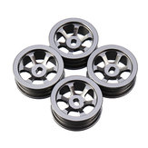4 قطع Wltoys 1/28 K979 K989 Hub Rims RC Car Wheels