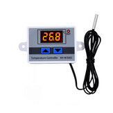 XH-W3001 10A 12V 24V 220V AC Digital LED Temperature Controller for Incubator Cooling Heating Switch Thermostat NTC Sensor