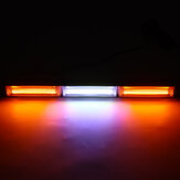 45cm 3-delige enkelzijdige auto knipperende led-lamp COB Engineering Vehicle Warning Ceiling Bar Light