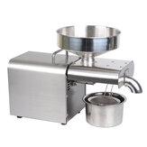 EU / US / AU / UK / GB Plug из нержавеющей стали Автоматический Масло Пресс-машина 220 / 110V 1500W Экономия энергии 20 лет долгой жизни для кухни