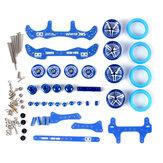 1 Conjunto MA / AR Chassis Modificação Set Kit Com Peças FRP Para Tamiya Mini 4WD Peças Do Carro RC Com Roda