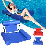 Cadeira flutuante inflável, piscina, rede, cama lounge, colchões multifuncionais, água, piscina, lago, Praia, rio