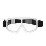 Óculos de corrida de motocicleta Anti-Fog Óculos Trabalho Proteção para os olhos Anti Splash Ciclismo Lens