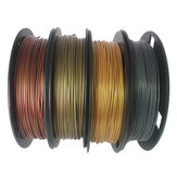 CCTREE® 4Color PLA Set Bronze+Copper+Gold+Silver 1.75mm 200g/Roll PLA Filament Set for 3D Printer Reprap
