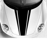 DIY جسم السيارة بونيه الفينيل سباق شريط مقلمة ملصقات صائق 54 سنتيمتر x 85 سنتيمتر