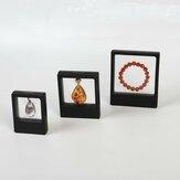 10PCS jóias suspendidas exibição Stand Holder embalagem Caixa apresentação flutuante Caso