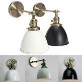 E27 antique bacia industrial sconce de loft rústico escada luminária lâmpada de parede do vintage