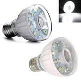 E27 3W SMD3528 pur blanc capteur infrarouge LED ampoule pour porche AC100-120V / AC220-240V