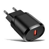 UE QC3.0 Carregador USB Carregador de parede de carregamento rápido Adaptador de energia para Tablet Smartphone