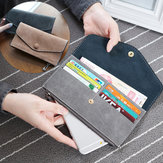 Women Multi Card Zippered PU Wallet Bag Purse For 5.5-inch Smartphone