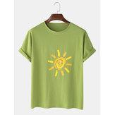 T-shirts à manches courtes décontractés pour hommes