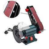 6インチ150mmベンチグラインダーベルトサンダーシャープナーリニッシャー電動サンディング研削盤