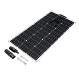 100W Solar Panel Monocrystalline DIY Connector Charger High Efficiency Power Generator Camping Car Boat Home