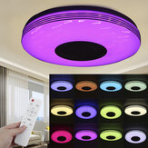 36CM bluetooth WiFi LED Ceiling Light RGB Music Speaker Dimmable Lamp APP Remote Control