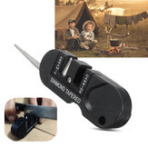 Steel Pocket Sharpen Stone Outdoor Portable Mini Tool Survival Camping