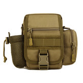 Tactical Multifunction Sports Riding Waist Bag Capacity Shoulder Kettle Bag