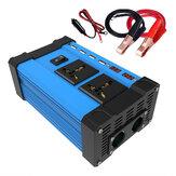 Inversor de energia solar para carro 4000 W DC 12V para AC 110V / 220V Conversor de onda sinusoidal 2 USB