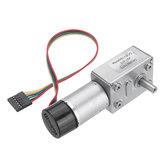 MachifitJGY-370DC6VTurbinade engranaje de reducción motor Gusano Codificador autoblocante motor Retroalimentación de señal