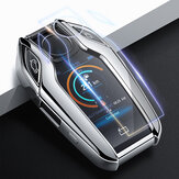 TPU Car Remote Key Case Cover for BMW 7 Series New 730li 740li 750li 760li G11