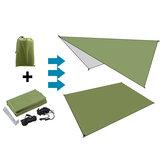 210D Tecido Oxford Exército Verde à prova de umidade Abrigo para barraca toldo dobrável Rede para chuva Guarda-sol Esteira para piquenique ao ar livre Trave de acampamento