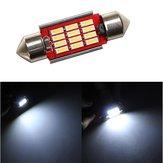 36 мм 4014 12smd украшают купол LED легкая внутренняя лампочка чтения 12 ~24v dc неполярный с исходящей функцией