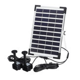 10V 5W solare Pompa Powered Powered Water Fountain per Pool Pond Garden Outdoor sommergibile