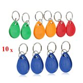 EM4305 125KHZ Copy Rewritable EM ID Piloty RFID Tag Key Ring Card