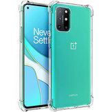 Bakeey for OnePlus 8T Case with Air Bag Shockproof Transparent Non-Yellow Soft TPU Protective Case