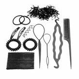 Pro Волосы Maker Clip Волосы Стандарты Волосыpins Аксессуары для укладки Набор Набор