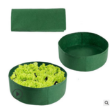 Foldable Round Planting Container Nursery Flower Planter Vegetable Flowers Planting Grow Bag