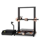 TWOTREES®トルネードV2アップグレードされた3Dプリンターキット300 * 300 * 400mm印刷サイズ、BMG押出機/シリコン加熱ベッド/ガラスプラットフォーム付き