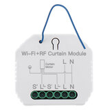 MoesHouse MS-108WR WiFi RF Smart Curtain Blinds Module Switch Ролик Shutter Мотор Tuya Wireless Дистанционное Управление Работа с Alexa Google Home