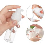 100ml Foaming Refillable Bottle Fine Shampoo Lotion Refillable Bottles Foam Pump Soap Container