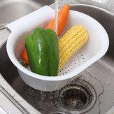 Creatività multifunzionale lavandino appeso cucina cestino di scarico verdura stoccaggio frutta organizzatore