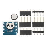 3Pcs Geekcreit® RTC DS1307 Real Time Clock + Battery Shield For D1 Mini Development Board