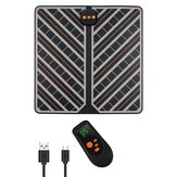 15 Gears EMS Foot Massager Mat Rechargeable Foldable Foot Relaxing Device Remote Control