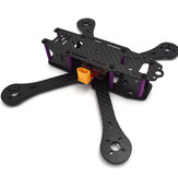 Realacc X4R X5R X6R 180mm 220mm 250mm 4mm Arm Carbon Fiber Frame Kit with BEC Output PDB