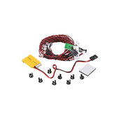 KOSTA Flight Light LED Night Light Strip Controller voor RC-vliegtuighelikopter