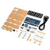 WangDaTao YD-010 LED Digital Electronic DIY Clock Production Kit with Shell